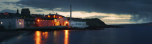 bowmore 2016 distillery panoramic photo islay scotland