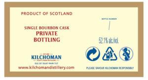 Kilchoman stolen cask