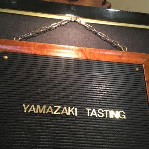 Yamazaki Tasting