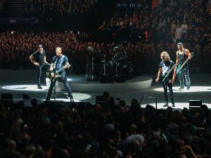 Metallica live in London