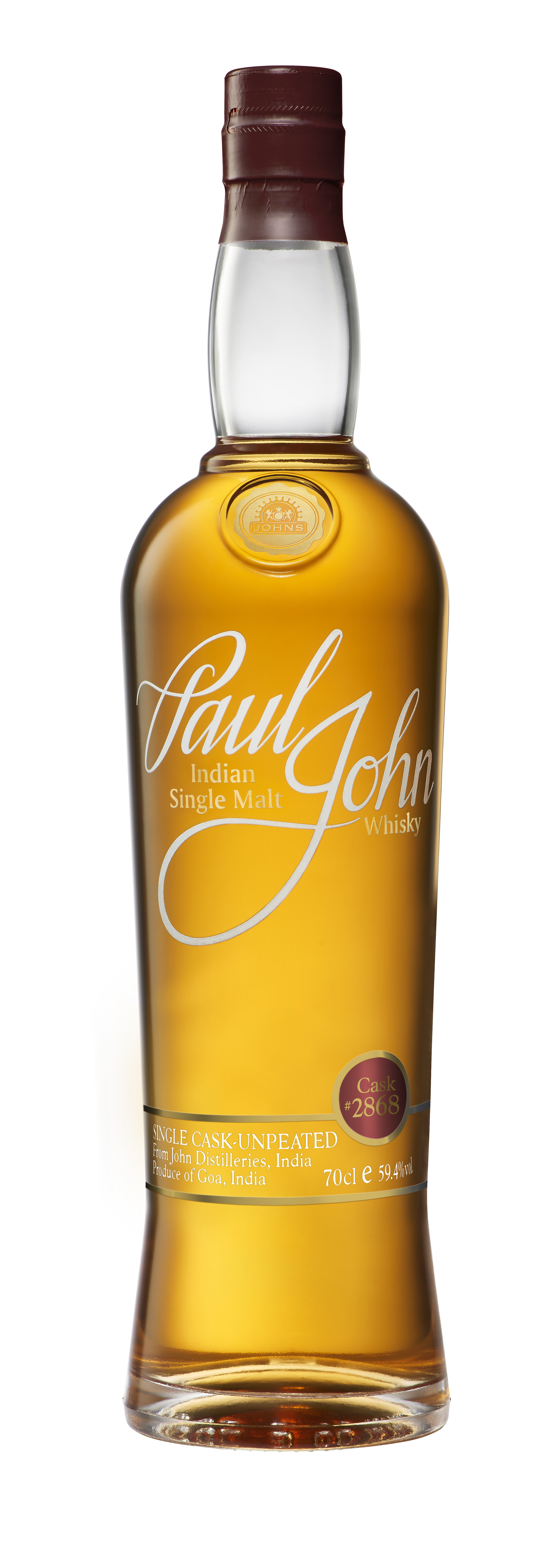 Paul John Single Cask bottle 02