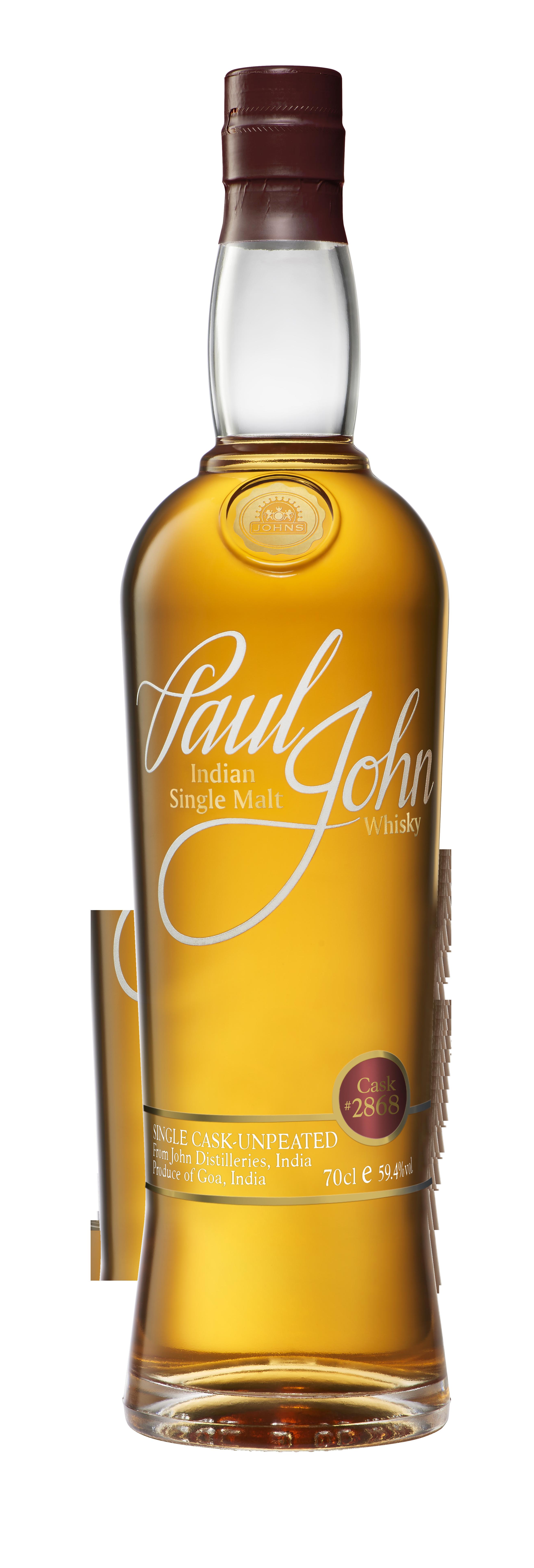 Paul John Single Cask bottle 02