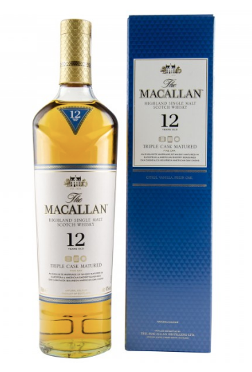 Macallan Whisky 12 Jahre Triple Cask Matured