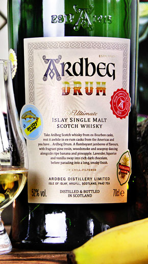 Ardbeg Drum Committee Release 2019 Rum Cask Peated Whisky