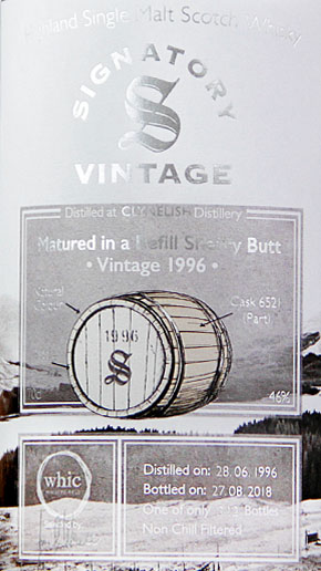 Clyenelish 22 Signatory Vintage (bottled for whic.de)